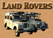 Information about our trusty Land Rovers.